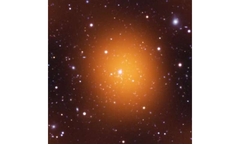 Phoenix cluster sets record pace at forming stars