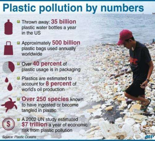 Plastic pollution by numbers