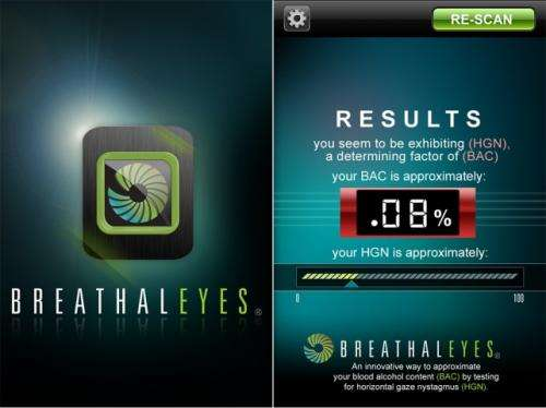 Potential drunk drivers now have an app for that