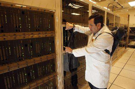 Powerful supercomputer makes ALMA a telescope