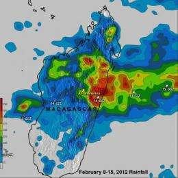 Rain-soaked Madagascar again threatened by Cyclone Giovanna