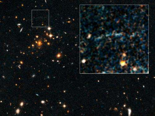 Rare case of gravitational lensing reported (Update)