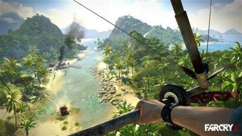 Review: Sand, surf, blood in thrilling 'Far Cry 3'