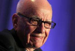 Rupert Murdoch's Twitter account, @rupertmurdoch, went live on December 31