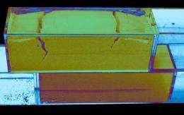Rutgers granular-slip study documents voltage signals