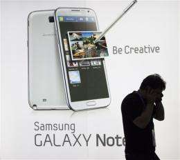 Samsung: Apple trying to limit consumer choice