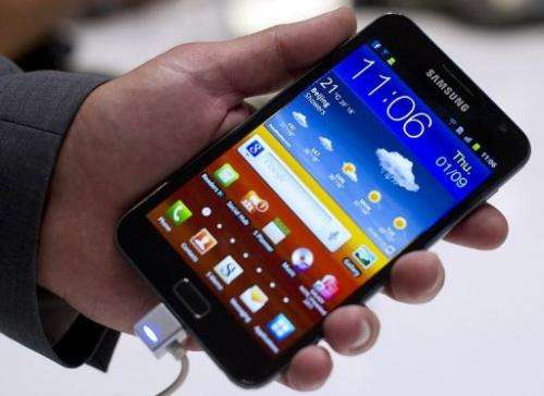 Samsung launched the 5.3 inch Galaxy Note in October and sold a million in just two months