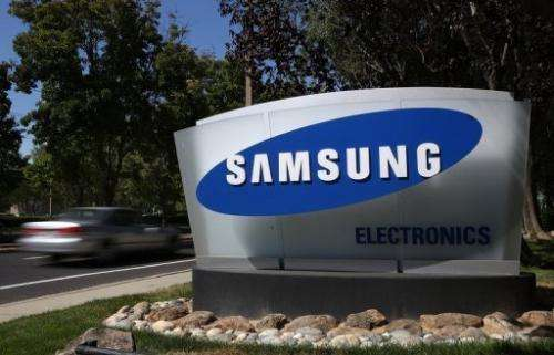 Samsung overtook Nokia as the top mobile phone brand for 2012