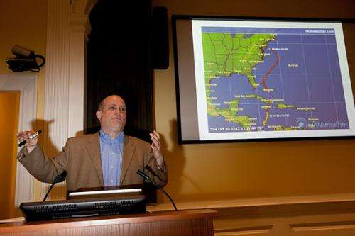 Sandy prompts renewed interest and concern in climate change