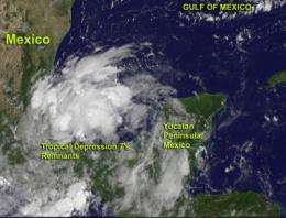 Satellite imagery hints that Tropical Depression 7 may be reborn