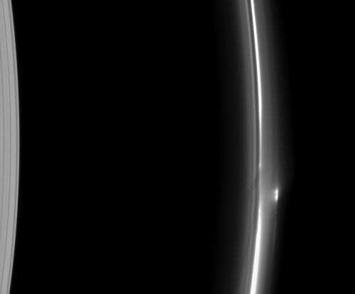 Saturn's fluctuating F ring