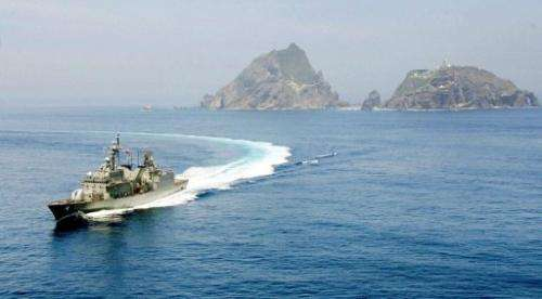 Seoul and Tokyo are locked in a propaganda war over the islands, known as Dokdo in Korea and Takeshima in Japan