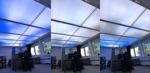Sky light sky bright - in the office