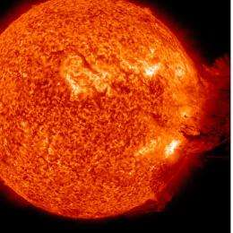 Solar 'climate change' could cause rougher space weather