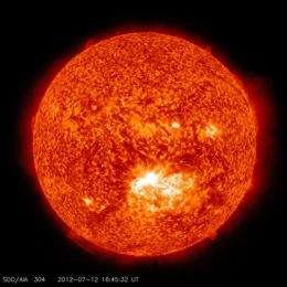 Solar storm barreling toward Earth this weekend