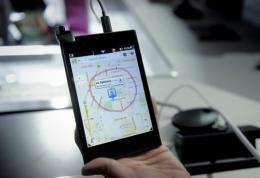 South Korean maker LG's new Optimus Vu has a five inch display
