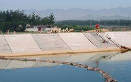 South-North Water Diversion Project is one of China's largest infrastructure projects