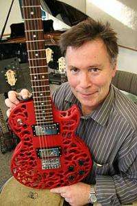 Spider guitar dazzles with style and sound
