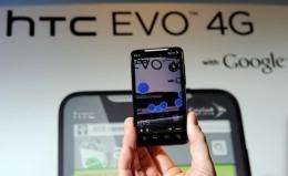Sprint said in a statement that the phone, known as the HTC EVO 4G LTE