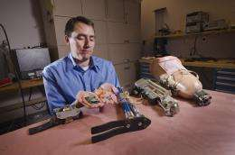 Sandia seeks better neural control of prosthetics for amputees