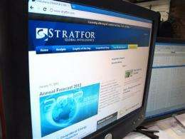 Stratfor back online after cyberhack (AP)