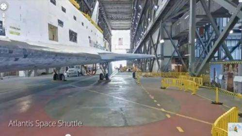 Take a virtual visit to Kennedy Space Center via Google maps