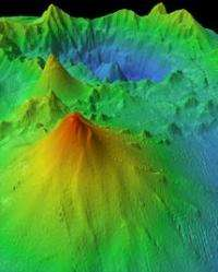 Team observes rapid change in underwater volcano Monowai