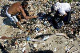 The 250 million tonnes of plastic we discard each year make their way for thousands of miles around the oceans