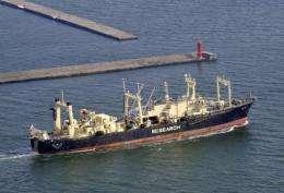 The ageing 8,000-ton Nisshin Maru needs a major overhaul, Japan's Fisheries Agency said