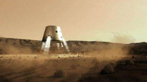 The Dutch firm estimates it will cost $6 billion to land four astronauts on Mars by 2023