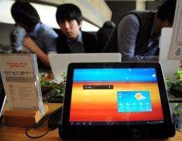 The Galaxy Tab 10.1