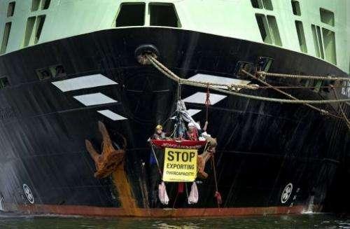 The Margiris has been renamed Abel Tasman for planned fishing operations off Tasmania