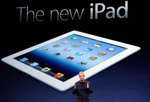 The new iPad boasts a more powerful processor, eye-grabbing resolution on par with that of an iPhone 4S