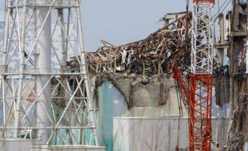 The No. 3 reactor building at Fukushima pictured on May 26, 2012