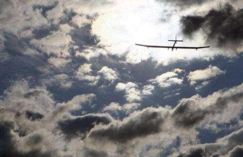 The solar-powered airplane Solar Impulse
