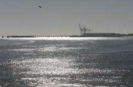 The Verdon oil terminal in France
