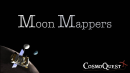 Through MoonMappers, the public is offered a chance to be part of NASA Lunar Science