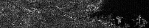 Cassini spots mini Nile river on Saturn moon Titan