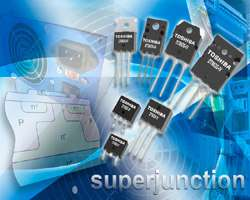 Toshiba announces next-generation superjunction technology for power MOSFETs