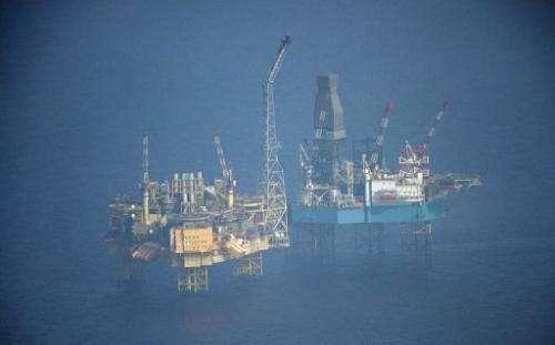 Total's Elgin platform was evacuated earlier this week