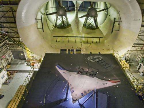 Transformed X-48c flies successfully