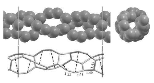 Freestanding carbon nanotubes may be thinner than previously thought possible