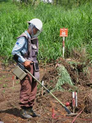 A new tool to enhance tasks of humanitarian demining