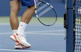 US Open using device that measures net tension