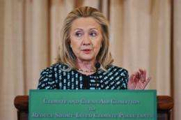 US Secretary of State Hillary Clinton said the coalition will work to curb black carbon, methane and hydrofluorocarbons