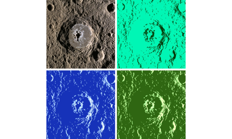 Warhol crater gets its 15 minutes of fame