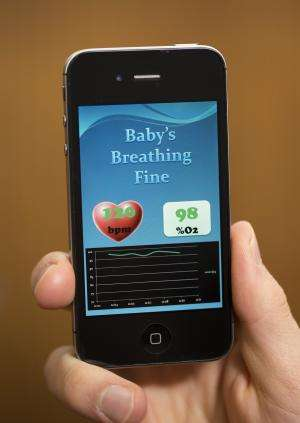 While you were sleeping: Monitor alerts parents if baby stops breathing