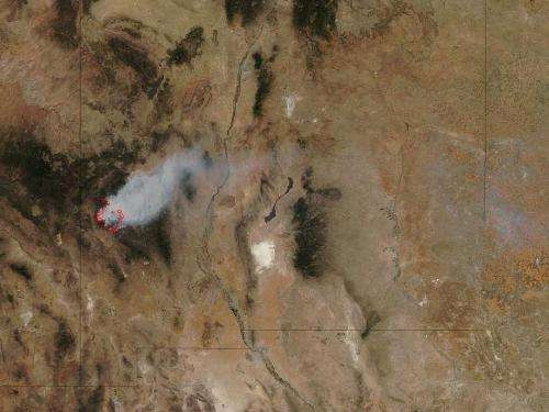 Whitewater-Baldy complex fire