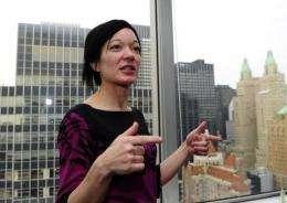 Wikimedia Foundation Executive Director Sue Gardner.