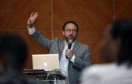 Wikipedia founder: Public needs online references (AP)